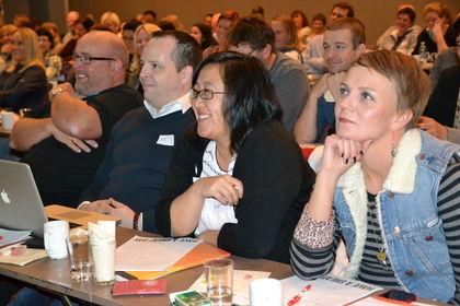 Blide deltakere på FUGkonf13