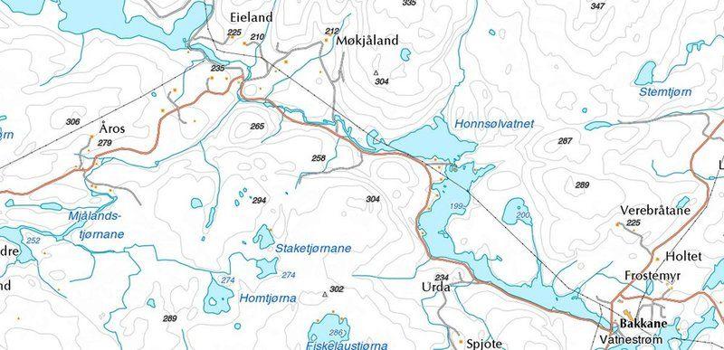 iveland kommune kart Karttjenester   Iveland kommune