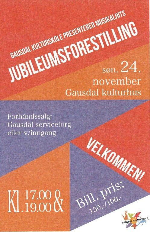Jubileum på kulturskolen_plakat
