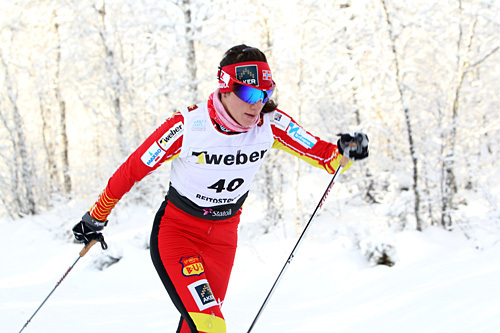 Heidi Weng kommer til start i Flyktningerennet 2014. Foto: Erik Borg.