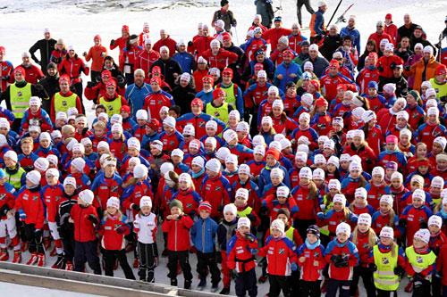 Lyn Ski er blant de mange klubbene som jobber svært bredt og offensivt i sitt arbeid med skiløpere i alle aldre og på alle nivåer. Foto: Lyn Ski.