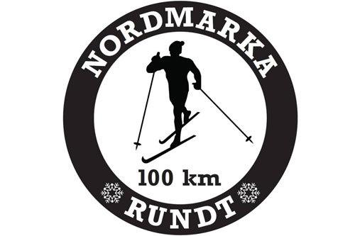 Nordmarka Rundt sin logo.