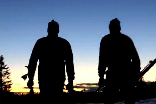 Paul Errington starter helt på null i sin ferd mot deltakelse i Birkebeinerrennet. Skjermdump fra Vimeo.
