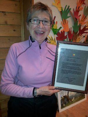 Karin Hansen vant Sør-Varanger kommunes HMS-pris 2013