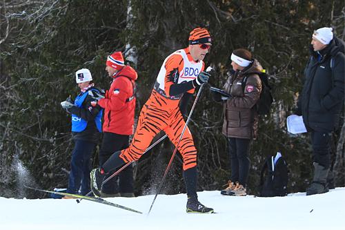 Kjetil Hagtvedt Dammen ute på 15 km klassisk i Beitosprinten 2013. Foto: Geir Nilsen/Langrenn.com.