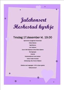 Julekonsert Heskestad