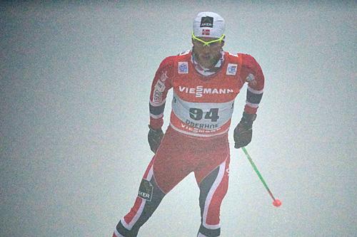 Martin Johnsrud Sundby ute på 1. etappe av Tour de Ski 2013/2014 i Oberhof. Foto: Felgenhauer/NordicFocus.