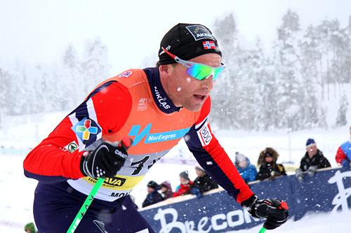 Niklas Dyrhaug. Foto: Geir Nilsen/Langrenn.com.