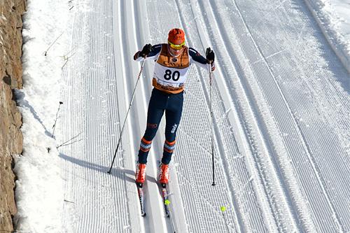 Stian Hoelgaard underveis i Marcialonga 2013. Foto: Rauschendorfer/NordicFocus.