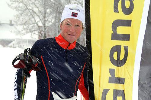 Vegard Kjølhamar vant Grenaderløpet 2014. Arrangørfoto.
