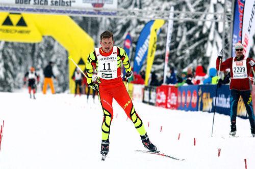 Tom Reichelt i Dolomitenlauf 2014. Foto: Mandl/NordicFocus.