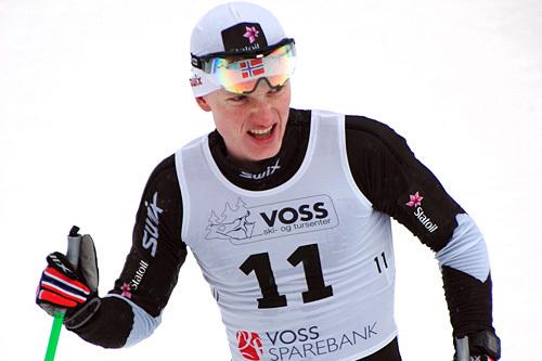Vebjørn Turveit avgjorde turrennet Herresåsen Rundt 2014 til sin fordel med nær 5 minutters margin. Arrangørfoto.