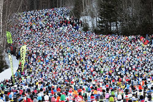 Vasaloppet. Foto: Rauschendorfer/NordicFocus.
