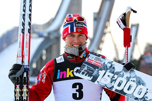 Pål Golberg vant verdenscupsprinten i Lahti 2014. Foto: Laiho/NordicFocus.