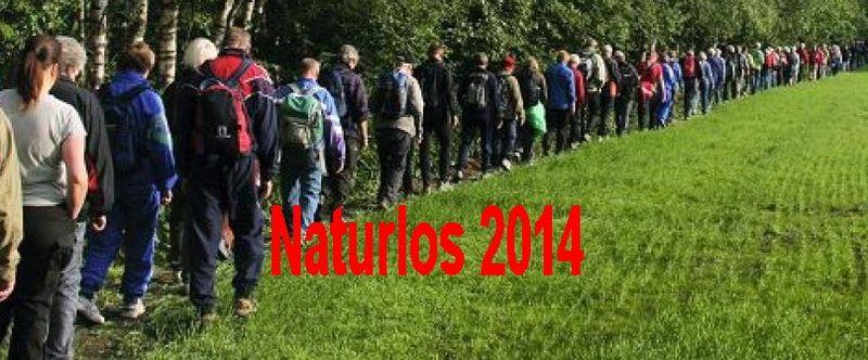 Naturlos 2014 - Bli med oss på tur !