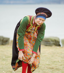 <br>Kvinnebunad fra Fusa