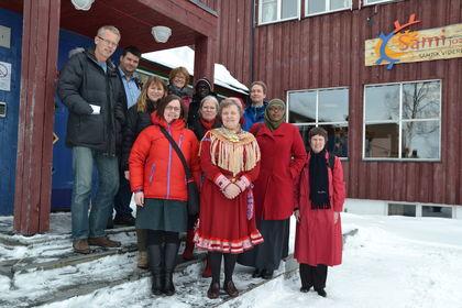 FUG og rektor ved samisk videregående og reindriftsskole