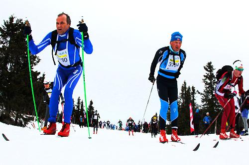 Illustrasjonsbilde fra Birkebeinerrennet. Foto: Veltheim/NordicFocus.