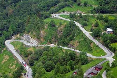 Deler av traséen til Nibberennet. Arrangørfoto.
