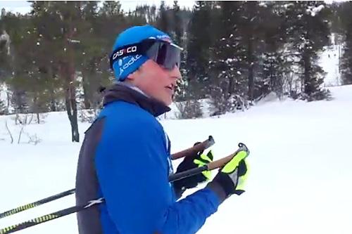 Skjermplott fra filmen Bedsit Productions presenterer Meråker VGS. Foto: Bedsit/YouTube.