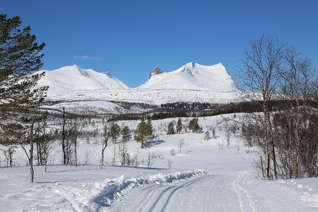 Valnesfjord - vinter