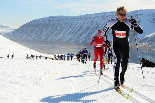 Fossavatn Ski Marathon 2014. Arrangørfoto.