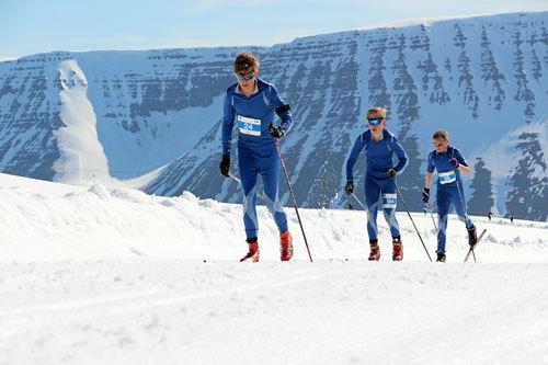 Fossavatn Ski Marathon er et av løpene som tas inn i Worldloppet for sesongen 2014/2014. Her fra 2014-utgaven. Arrangørfoto.