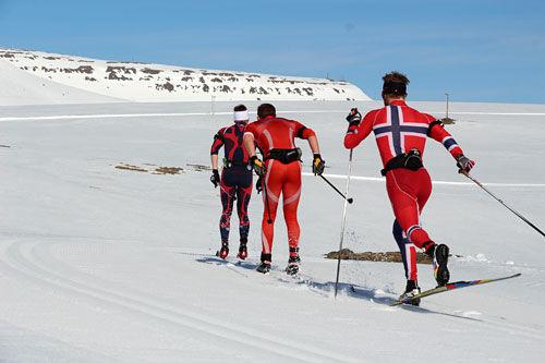 Fossavatn Ski Marathon. Arrangørfoto.
