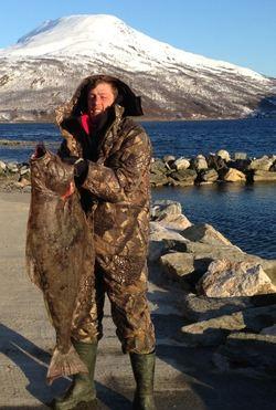 aleksander,halibut 20,5kg