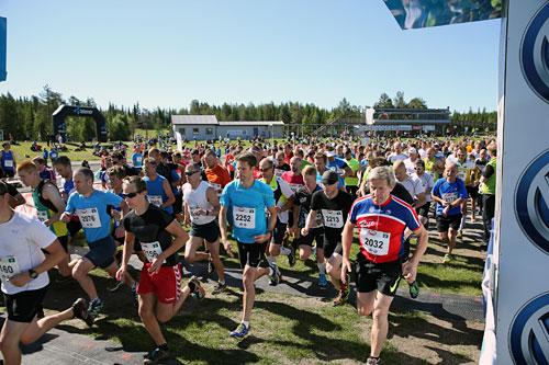 Birkebeinerløpet 2014. Foto: Geir Olsen/Birken.