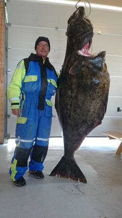 Josef Geyer, halibut 120kg