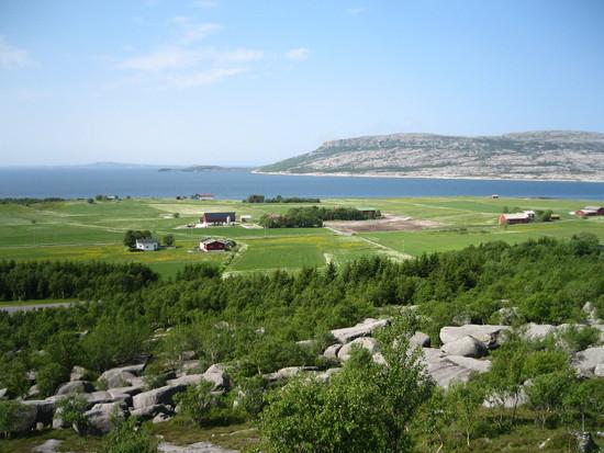 utsikt Høyholm og hamnøya