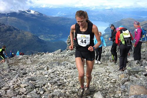 Inger Liv Bjerkreim Nilsen i Skåla Opp 2013. Foto: Christian Prestegård.