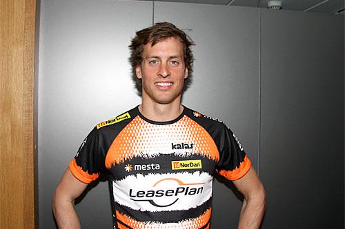 Kjetil Hagtvedt Dammen var på samling med Team LeasePlan Go da Langrenn.com møtte han ved Gardermoen i mai 2014. Foto: Geir Nilsen/Langrenn.com.