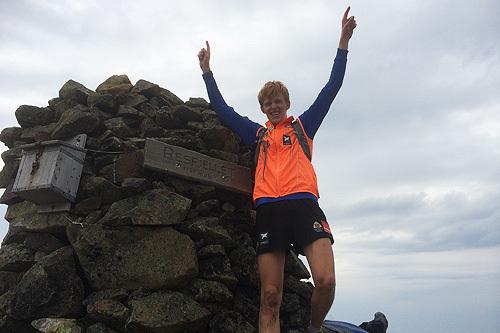 Vinneren av Resfjellet opp 2014 var raske Eirik Mysen, som brukte 01:04:51. Arrangørfoto