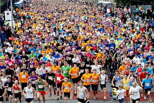 Oslo Maraton. Arrangørfoto.