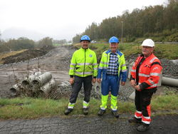 Torfinn Oftedal, Kjell Fiskebekk og Martin Skulevold