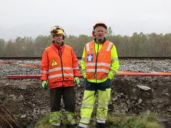 Vaktmannskap Espen og Odd Jan Urevatn