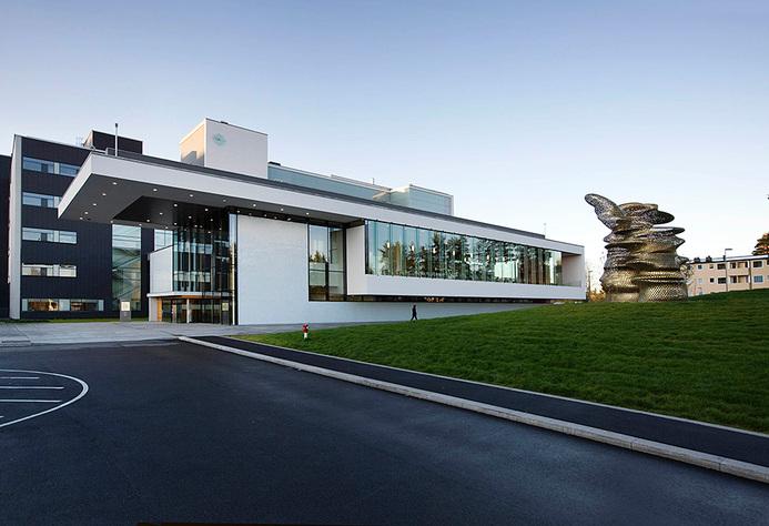 Akershus universitetssykehus bilde av bygning