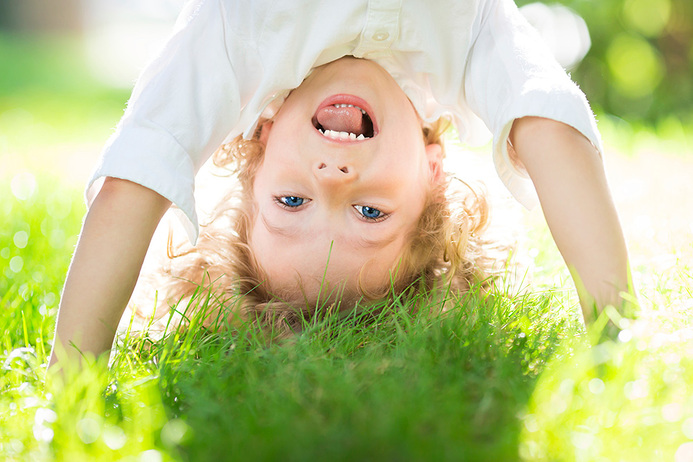 Illustrasjonsbilde av barn som leker