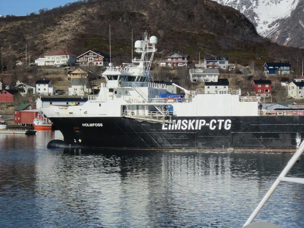 Skip ved BioMar Myre havn