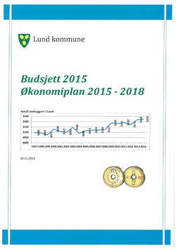Formannskapets innstilling til Budsjett- og økonomiplan 2015 – 2018