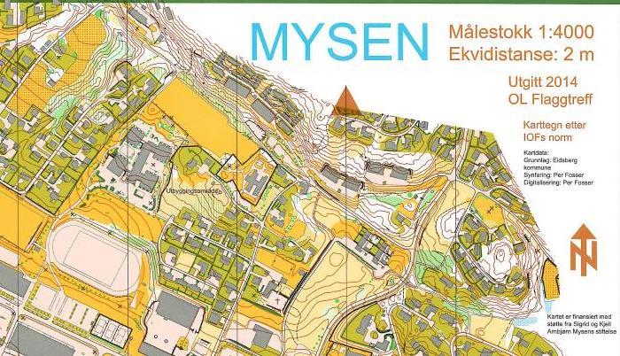 kart mysen Friluftslivets år – 2015   Eidsberg kommune