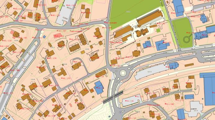 Illustrasjonsfoto eiendomsgrenser