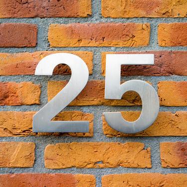 Illustrasjonsfoto bolignummer og adresse