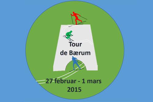 Logo for Tour de Bærum.