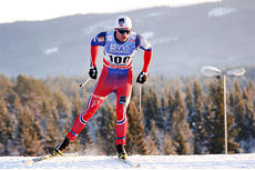 Petter Northug går NM-sprinten på Røros etter krav fra landslagsledelsen. Her under verdenscupen på Lillehammer 2014. Foto: Geir Nilsen/Langrenn.com.