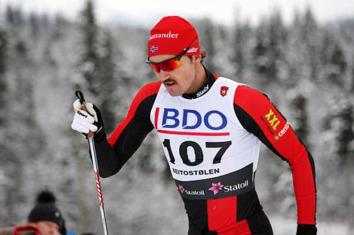 Andreas Nygaard fra Team Santander er blant deltakerne i Tromsø Skimaraton 2015. Foto: Geir Nilsen/Langrenn.com.