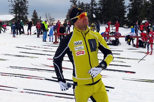 Øystein Pettersen fotografert i forkant av Romjulsrennet 2014, der han vant med ny løyperekord. Foto: Jarl Solvang.