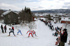 Fra ski-NM i Røros 2009. Foto: Arne Inge Næss.